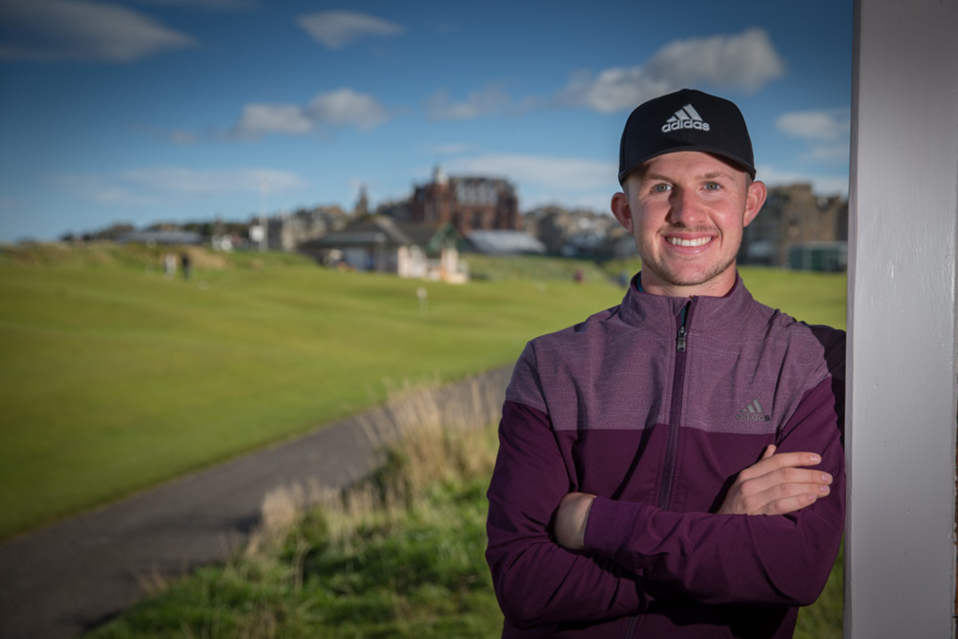 adidas Golf Sign Scottish Talent Connor Syme